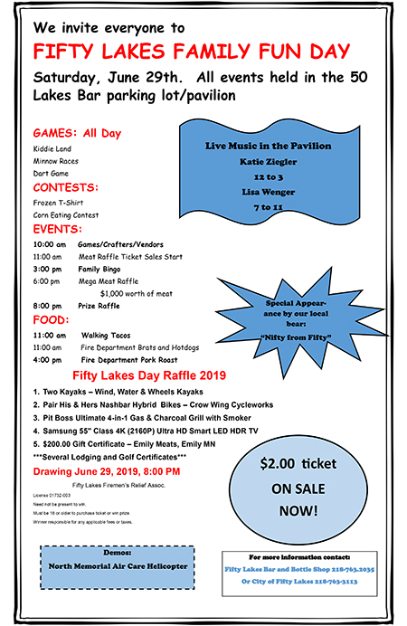 Fifty Lakes Day 2019