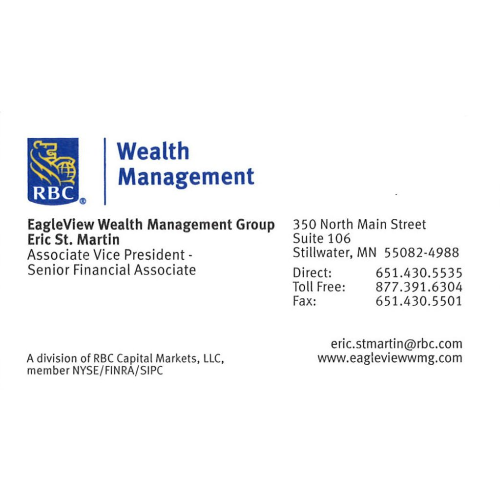 Eric Martin – Eagle View Wealth Management